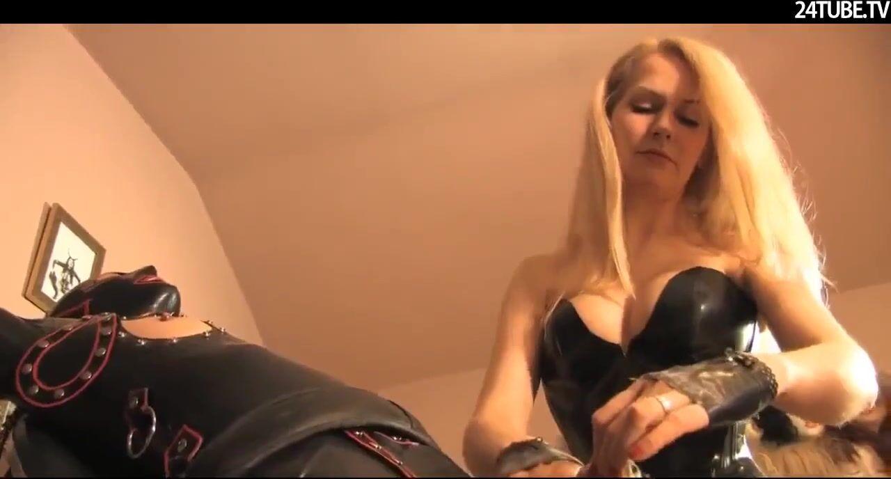 Видео порно фитиш связанная