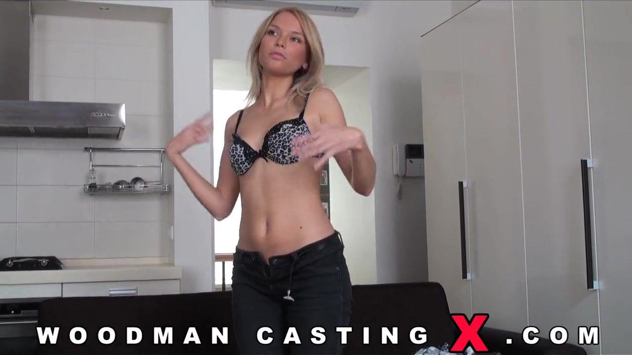 Кастинг порно молодые блондинка