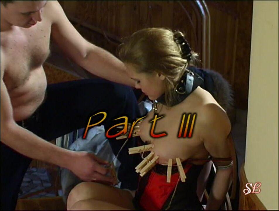 Групповое порно с рабыней