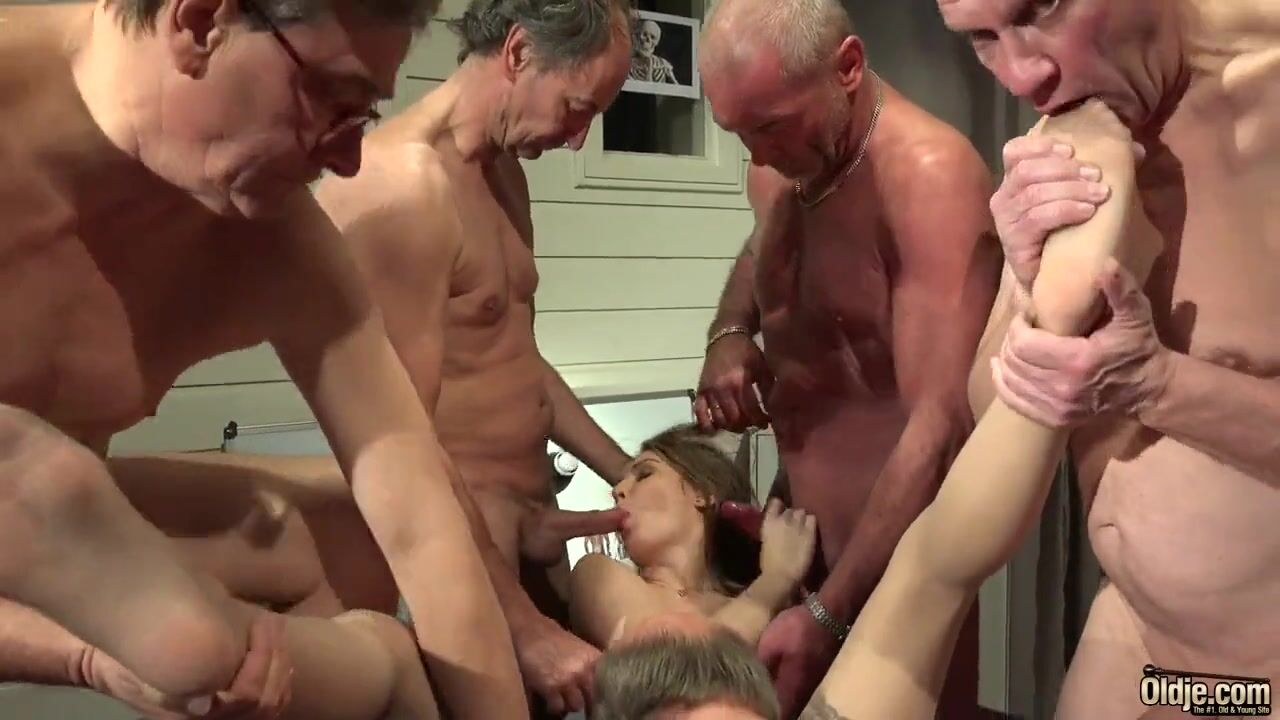 Мобильное порно старики